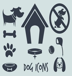 animal icons3 vector image