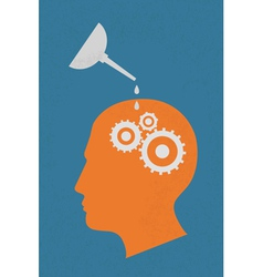 Brain3 vector image