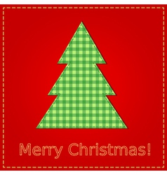 christmas sewing vector image
