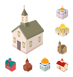 design architecture and building icon vector image