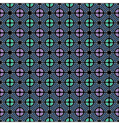 geometric color pattern vector image