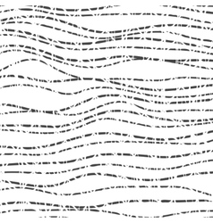 Hand drawn uneven scribble and irregular lines vector image