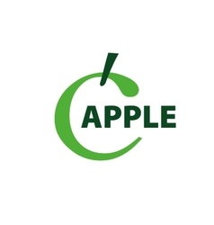 Logo apple vector