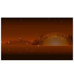 Night Skyline vector image