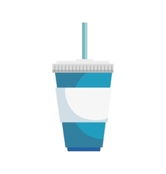 soda drink isolated icon vector image