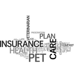What you need to know about pet health care vector