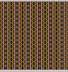 Boho pattern with beautiful design 1 vector