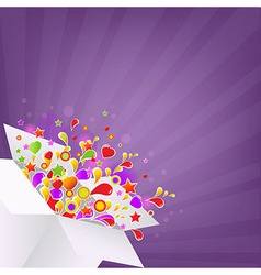 Colorful Box vector image vector image