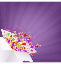 Colorful Box vector
