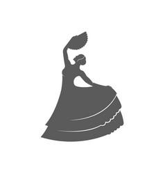Flamenco logotype vector