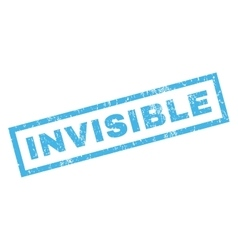 Invisible Rubber Stamp vector
