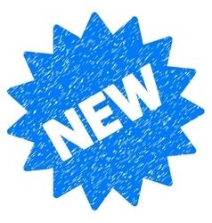 New Sticker Grainy Texture Icon vector