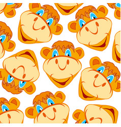 Pattern from muzzle camel vector