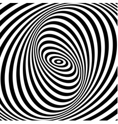Swirl movement illusion vector