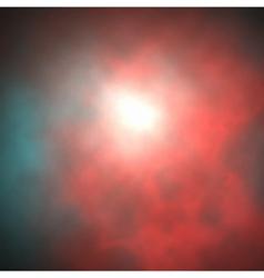 red smoke vector image vector image