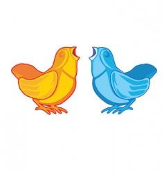 songbirds vector image