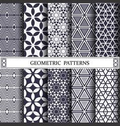 triangle geometric patternpattern fills web vector image