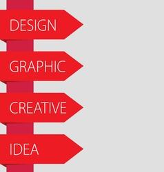 design idea graphic vector image