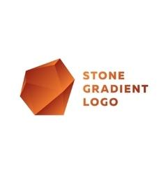 Bronze stone gradients trend sign vector image