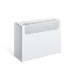 Package cardboard box vector