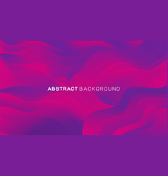 abstract gradient wavy shapes background vector image