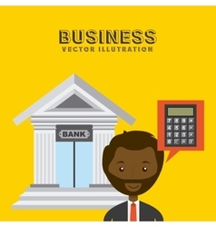 businesspeople group design vector image