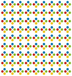 Colorful dot pattern vector