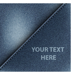 Diagonal jeans design vector