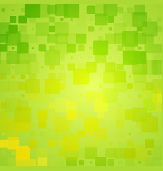 Green yellow shades glowing rounded tiles vector