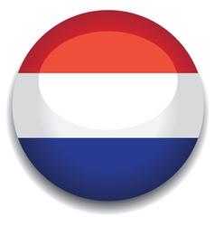 Holland flag vector