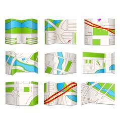 Topo maps vector