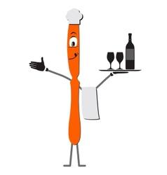 Knife cartoon vector image