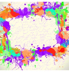 abstract background coloured vector image