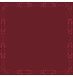 Decorative calligraphic frame vector
