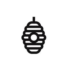 hive icon vector image