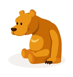 icon bear vector image