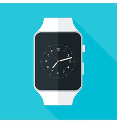 Light Smart Watch Flat Stylized vector