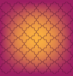 seamless moroccan pattern vector image