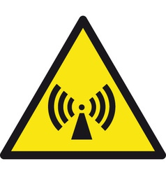 Wireless Radio Signal Sign vector