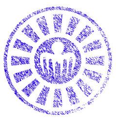 spectre casino roulette icon grunge watermark vector image