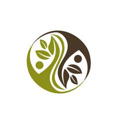 alternative medicine healthy vector image