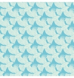 Blue Flying Birds Diagonal Texture Seamless vector image