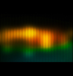 brown orange green abstract with light lines vector image
