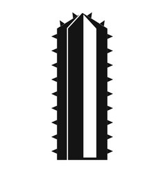 Cactus plant icon simple style vector