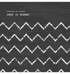 chalk chevron blackboard horizontal frame seamless vector image