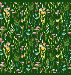 incredibly bright seamless pattern vector image