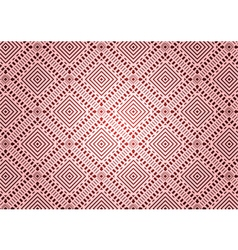 Rhombus a dash seamless pattern vector image