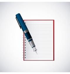 school supplies study icon vector image