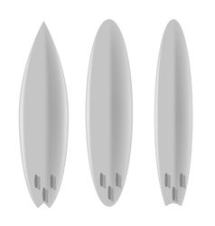 Set of Board for Surfing vector