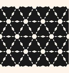 stars seamless texture geometric pattern vector image